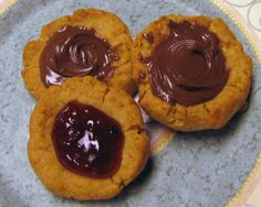 Recipe: Peanut Butter Thumbprint Cookies with Jam or Nutella Filling