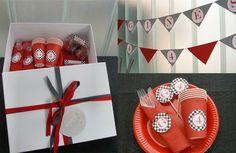 Kits de decoración para cumpleaños de niños: Coches de carreras