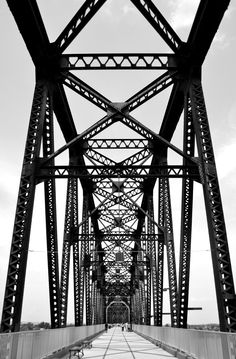 Walk across the Ohio River: Spanning a total of 1.42 miles, from Kentucky to Indiana, the newly renovated walking bridge has been a big hit!  The Big Four Bridge, Louisville, KY 40206