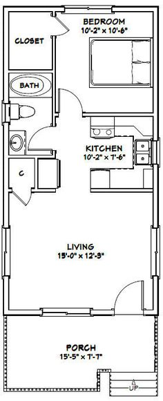 1630 Tiny House 480 sq ft Excellent Floor Plans Tiny House On Wheels Excellent Floor House Plans Tiny Small House Floor Plans, Cabin House Plans, Cabin Floor Plans, Country House Plans, Tiny Cabin Plans, Studio Floor Plans, Tiny House Layout, Tiny House Design, House Layouts