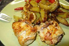 Jak přichystat kuřecí závitky s nivou   recept