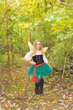 Zarina pirate fairy costume, fairy, outdoor photo shoot