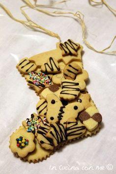 Calza della Befana in biscotto - In Cucina con Me