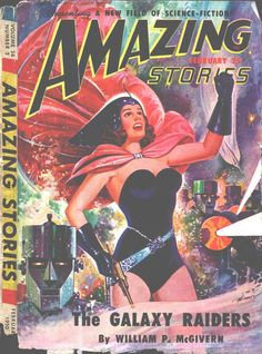 Comic Book Cover For Amazing Stories v24 02