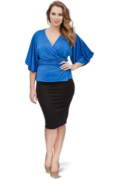 A perfect outfit for plus size women.