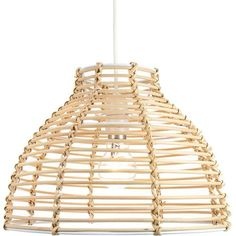 Traditional Basket Style Light Brown Rattan Wicker Ceiling Pendant Light Shade by Happy Homewares Ceiling Pendant, Pendant Lighting, Ceiling Lamp, Tons Clairs, Glass Pendant Shades, Traditional Baskets, Rectangular Lamp Shades, Chandelier For Sale, Ceiling Shades