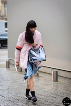 Susie Lau Style Bubble Street Style Street Fashion Streetsnaps by STYLEDUMONDE