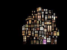 Sences of Intimacy - Windows at night collage