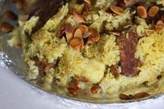 Wandering Spice: Maqloubeh: Palestinian Upside-Down Rice Dish