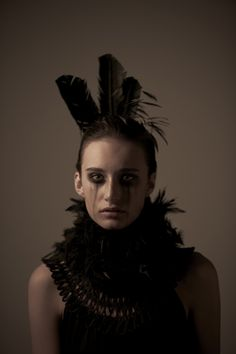 Greg Gerla's final image from Feathers Fashion Shoot.