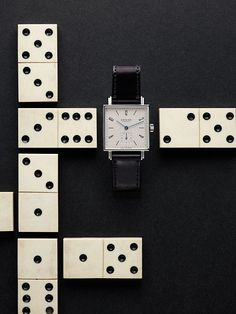 """NOMOS (handmade watches), Germany, """"Styling by Sarah Illenberger', pinned by Ton van der Veer"""
