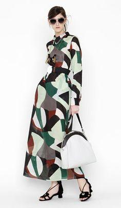 Marni  (bad choice for shoes, but nice dress)