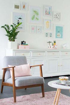 I want the chair!!! My livingroom - EKENÄSET IKEA chair - http://Bringinghappiness.nl