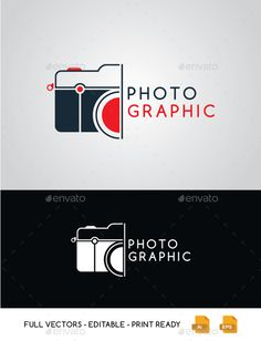 Photographic Camera Logo Art Photography