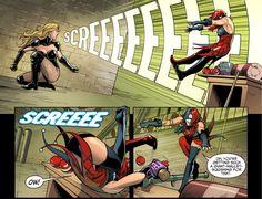 Black Canary VS Harley Quinn 3