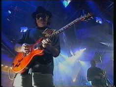 Carlos Santana  'Smooth' recorded live at the Riverside Studios London for the UK TV show 'TFI Friday' on January 28th. 2000.