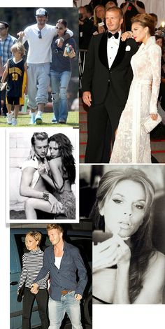 Various styles of Victoria & David Beckham Victoria And David, David And Victoria Beckham, Victoria Beckham Style, Vic Beckham, Harper Beckham, Celebrity Couples, Celebrity Style, Posh And Becks, The Beckham Family