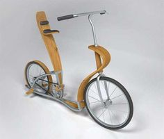 The Svepa bicycle is both elegant and unique. Designer Par Blanking made use of plywood and aluminum for the frame and seat of the bicycle. The bike can be used by two people at a time, with one person pedaling and sitting on the back seat while the other stands on the rear footboard.