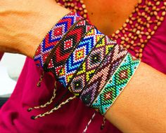 Beaded Friendship Bracelets Bracelet Patterns Jewelry With