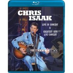 Chris Isaak: Live / Greatest Hits: Live [Blu-ray] (2005), (chris isaak, rockabilly, roy orbison, cd, trisha yearwood, johnny cash, rock, country music, adult alternative, buddy holly)
