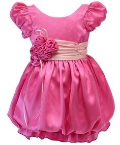 Pink Bubble Frock at Foreverkidz