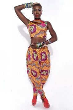 Africa rocks Nice outfit