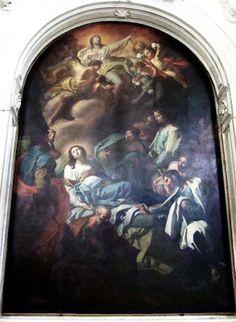 Palermo 'Transito della Vergine di Antonio Manno nella  Chiesa di Santa Maria La Nova