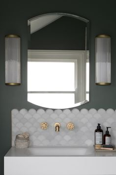 32 Brilliant Over the Toilet Storage Ideas that Make the Most of Your Space - The Trending House Bathroom Styling, Bathroom Interior Design, Home Interior, Decor Inspiration, Bathroom Inspiration, Decor Ideas, Family Bathroom, Small Bathroom, Back Splash Bathroom