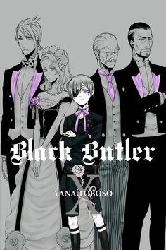 Black Butler - Inner Cover - Vol. X