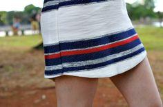 TopShop dress and espadrilles