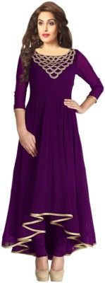 Pramukh Fashion Festive, Party Self Design Women's Kurti - Buy Purple Pramukh Fashion Festive, Party Self Design Women's Kurti Online at Best Prices in India | Flipkart.com
