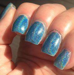 Lacquer: The Best Medicine!: Monday Blues: Born Pretty Store Holo Glitter Nail Polish #8