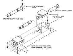 8 Ton (16,000 lb) Dump Trailer Hydraulic Scissor Hoist Kit