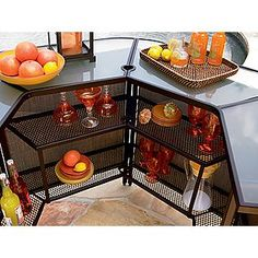 Awesome outdoor bar from #Kmart