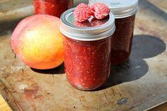Raspberry Peach Jam - vegan, gluten free