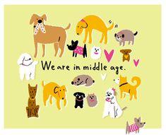 illustration-dog 犬のイラスト #DogDrawing