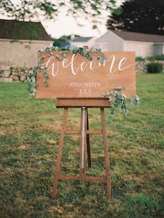 Photography : Brumley + Wells | Invitations & Calligraphy : A Fabulous Fete Read More on SMP: http://www.stylemepretty.com/2015/11/11/nautical-westport-massachusetts-wedding-part-i/