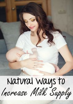 New moms often have trouble keeping up with the demands from baby in regards to breast milk. More often than not, baby is crying and you still need to pump Learn some natural ways to increase milk supply so you will be able to build up a supply of breast milk that is ready for baby when they want or need it.