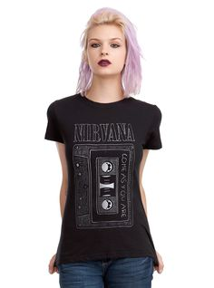 Nirvana Come As You Are Cassette Girls T-Shirt | Hot Topic