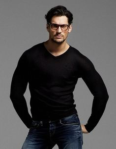 Gandy in glasses...I fall for this trick every damn time!