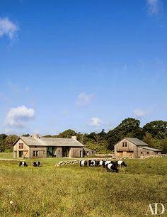 Barn transformation into a home on Martha's Vineyard by Architect Mark Hutker