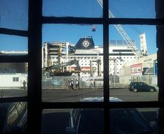 MSC Sinfonia - Through the window from The Ship Society of South Africa
