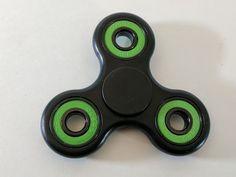 Triangular Classics Plastic Tri lever Hand Spinner Fidget Toy