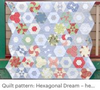 Hexagonal dream quilt Pattern