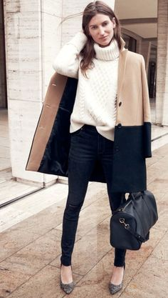 Love the simplicity of this outfit ... so classy!