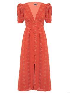 Trendy Dresses, Simple Dresses, Cute Dresses, Vintage Dresses, Casual Dresses, Fashion Dresses, Summer Dresses, Red Boho Dress, Dress Up