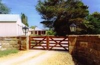 The Double Farm Gate - Select your size Farm Entrance, Entrance Signage, Entrance Gates, Fence Gates, Fencing, Timber Gates, Wooden Gates, Sawn Timber, Custom Gates