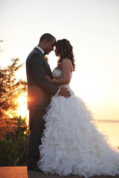 lakeside romantic orlando wedding photography