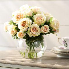 Found it at Wayfair.ca - Creamy Yellow Rose Bouquet