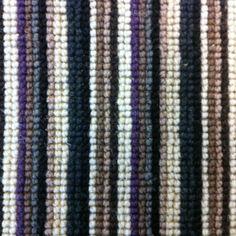 By Burts Carpet Remnants Calendar Stripe Purple Grey Black x Hallway Carpet Runners, Carpet Stairs, Purple Grey, Black And Grey, Vinyl Flooring Rolls, Striped Carpets, Carpet Remnants, H Logos, Diy Carpet